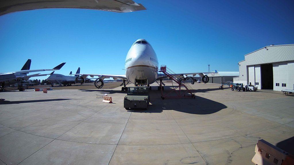 747 jet Engine