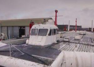 Hovercraft Decommissioning Time-lapse