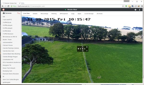 PTZ functionality goes live in time for FunctionalKats 2015 Dublin