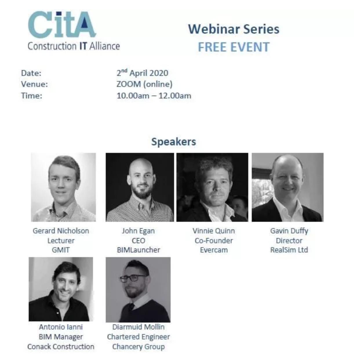 CitA Webinar Series