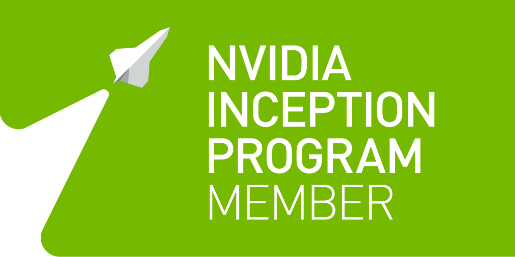 this is the image of Nvidia Inception Program Member banner.