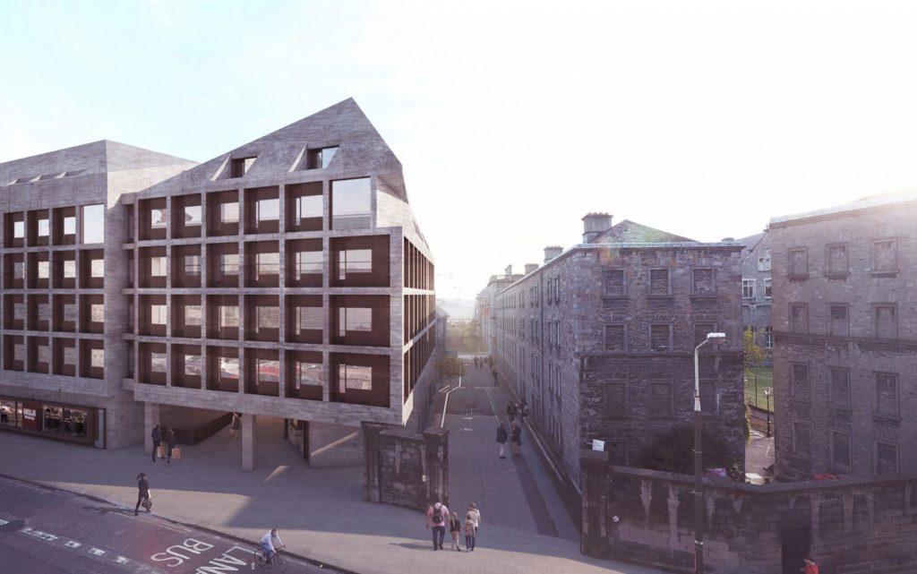 Printing House Square - CGI image