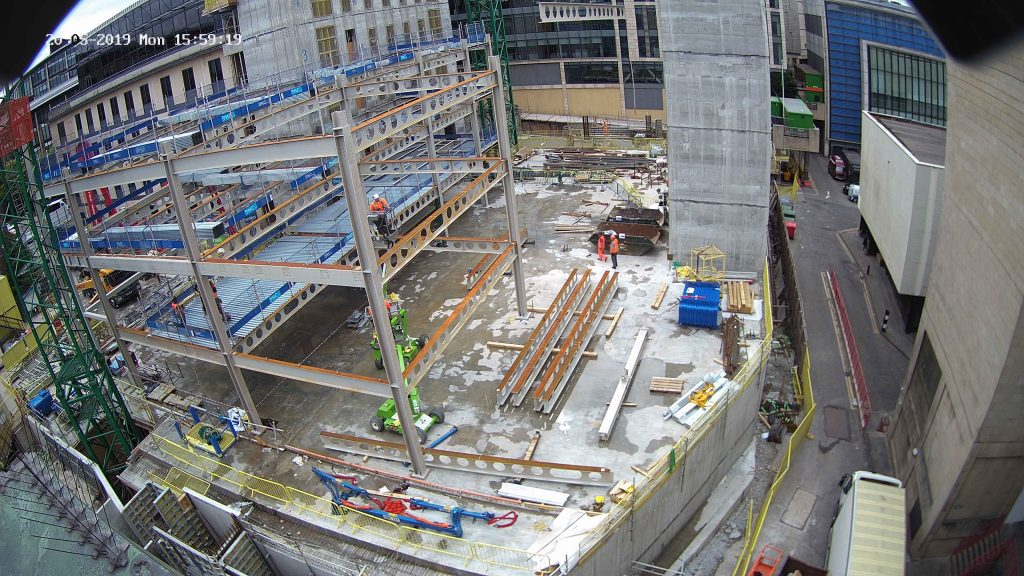 Construction in Progress of Capital Square