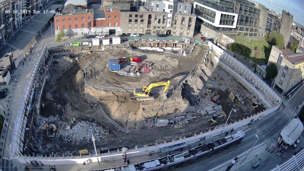 camera view of a construction site from evercam cameras