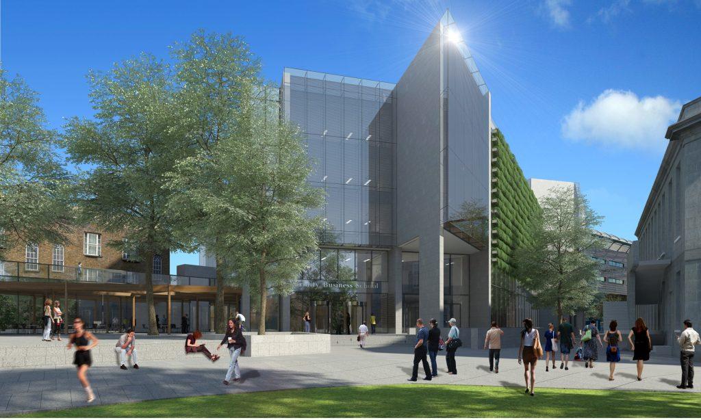 CGI Image of TCD Business School